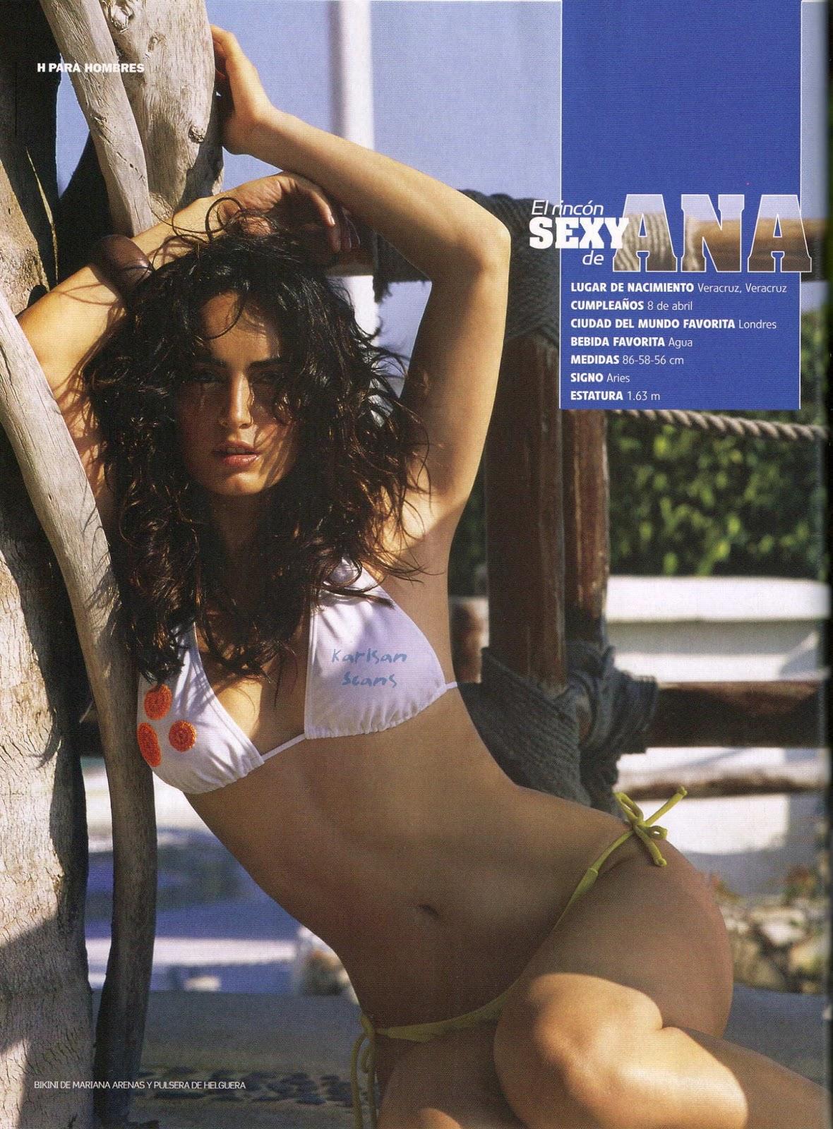 Ana de la Reguera in bikini, Ana de la Reguera hottest pics, Ana de la Reguera magazine photoshoot
