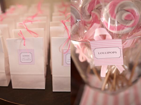 Sweet Style Pink Grey Wedding Desserts