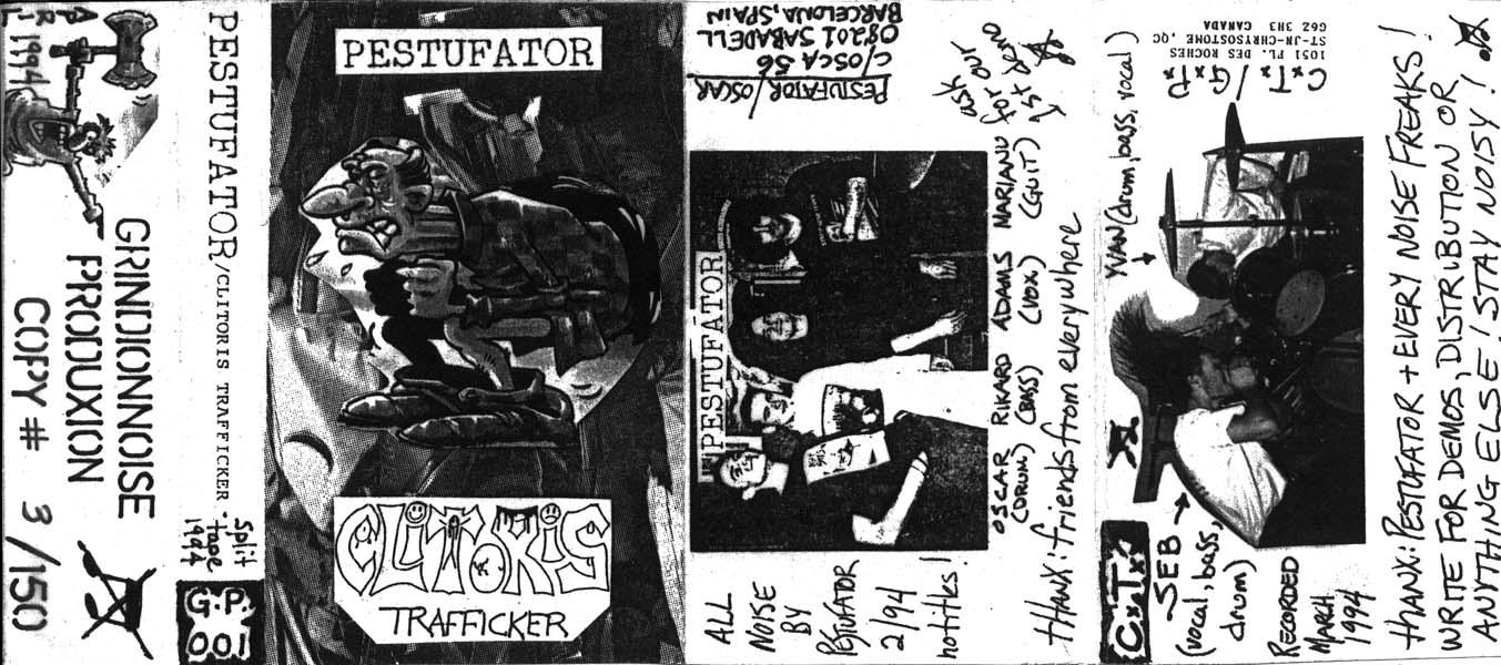 Unbearable Noise!!!!!: Clitoris Trafficker + Pestufator ...