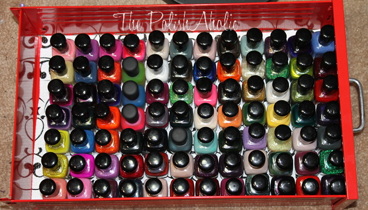 The polishaholic friday favorites 8 nail polish storage under the polish is a squishy shelf liner from target so the bottles dont fall over when you open the drawer solutioingenieria Choice Image