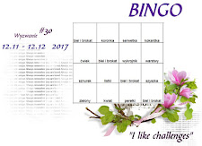 aktualne wyzwanie 12.11-12.12 /2017