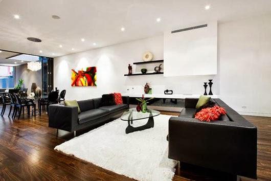 Ruang Keluarga Mewah dan Minimalis
