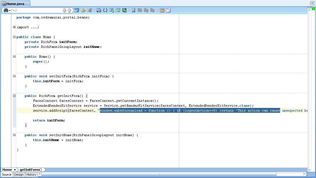Andrejus baranovskis blog how to handle web browser for Window onbeforeunload