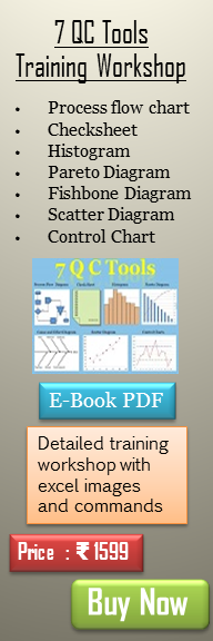 7 QC Tools training workshop PDF