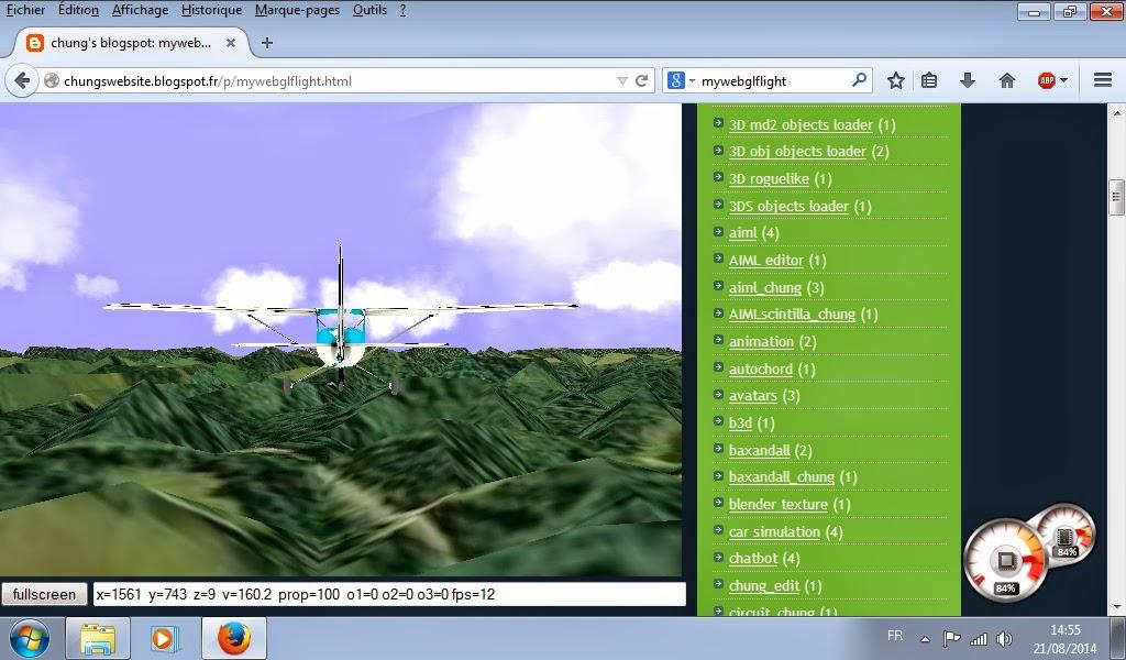 mywebglflight free online 3D webgl flight simulator dans flight simulator mywebglflight