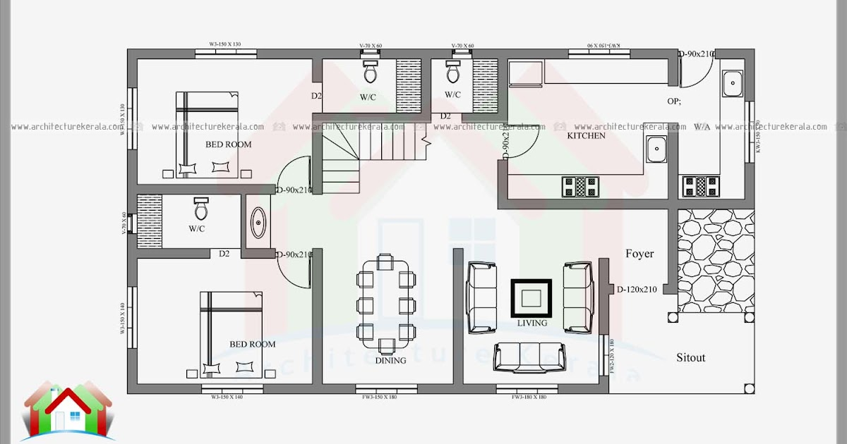 2400 Square Feet 4 Bedroom Kerala House Architecture Kerala