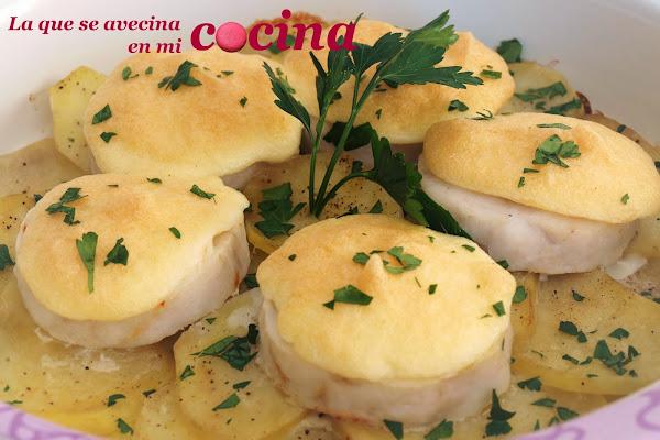 Merluza al horno mayonesa cocinar en casa es - Cocinar merluza al horno ...