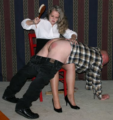Spanked by my lady