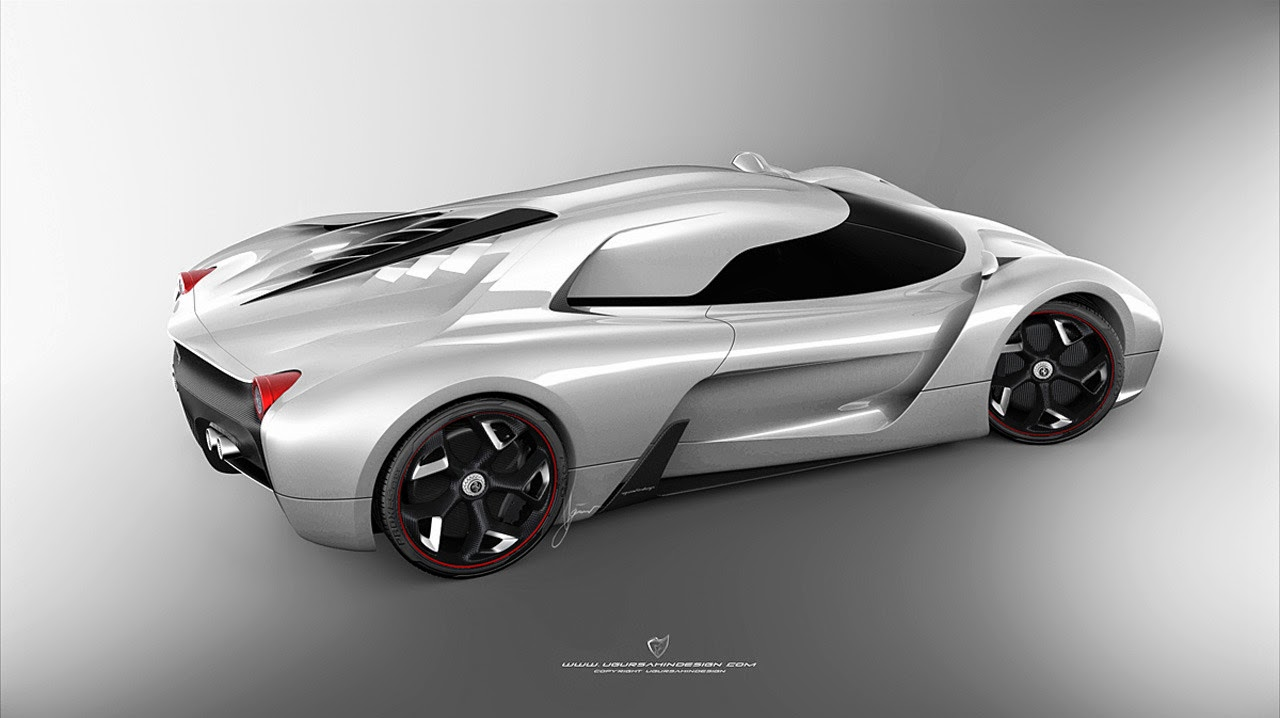 Ferrari F By Ugur Sahin Design Photos
