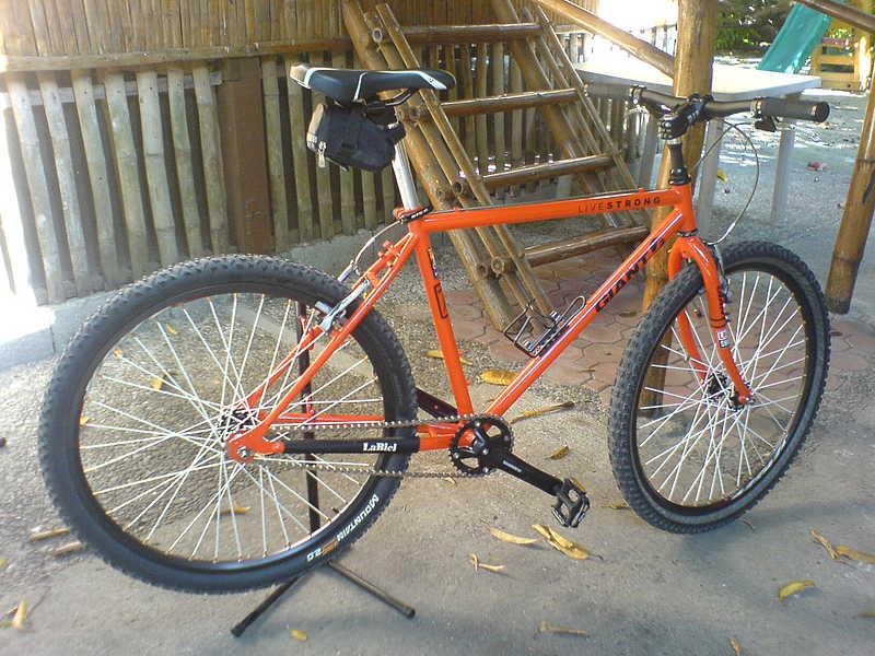 Desain Sepeda Fixie MTB | Desain Modifikasi Sepeda Fixie