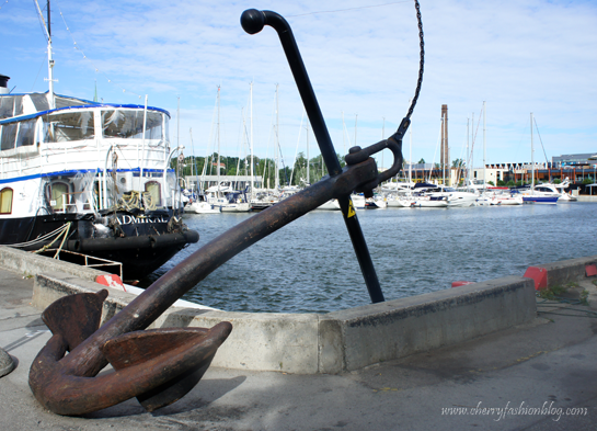 Anchor, Admiral Restaurant in Tallinn