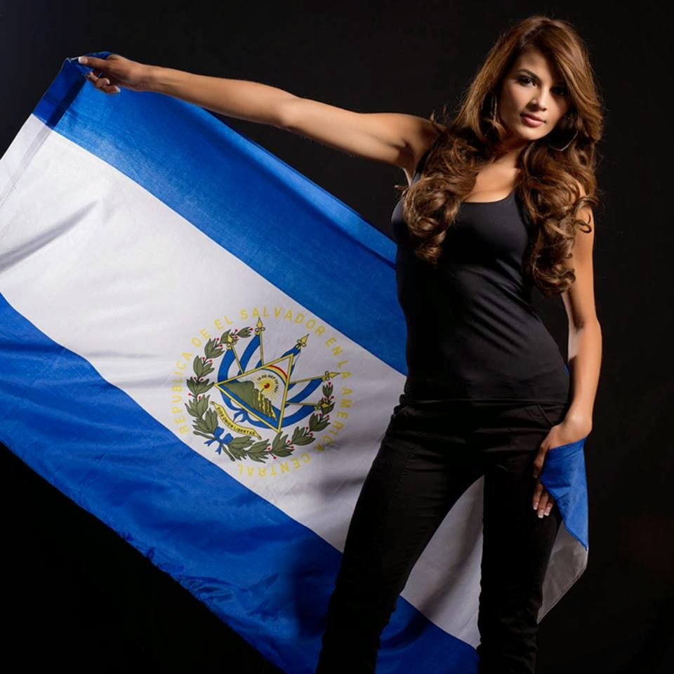 Miss Universe 2013 Contestants Defending Their Flags!