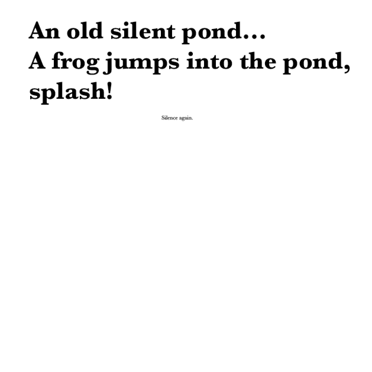 Alice Robinson Unit 40 Magazine Design Haiku Poems Activity