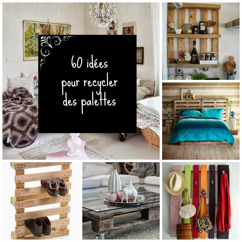 60 id es pour recycler des palettes my gardening tales. Black Bedroom Furniture Sets. Home Design Ideas
