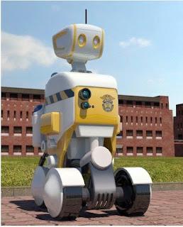 Coreanos substituem agentes penitenciários por robôs