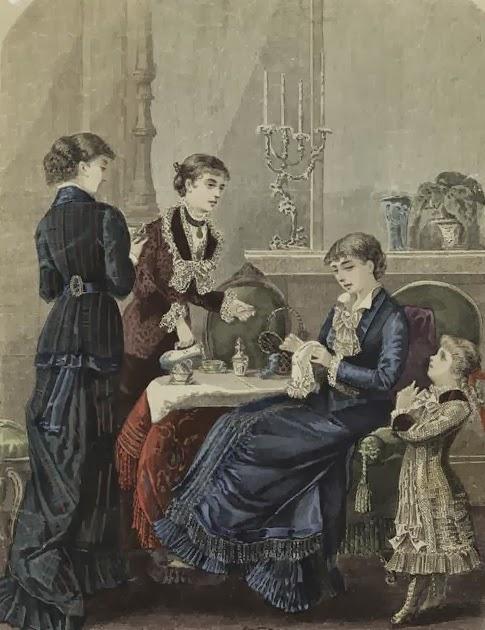 Etiquipedia: On Conformity and Etiquette In the Victorian Era | 485 x 630 jpeg 74kB