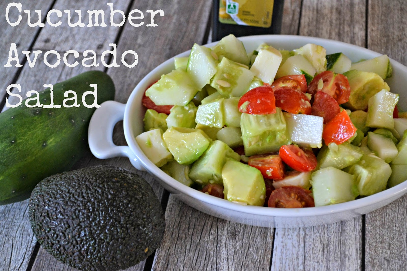 Cucumber Avocado Salad recipes. Salad Recipes with Cucumbers. salad ...