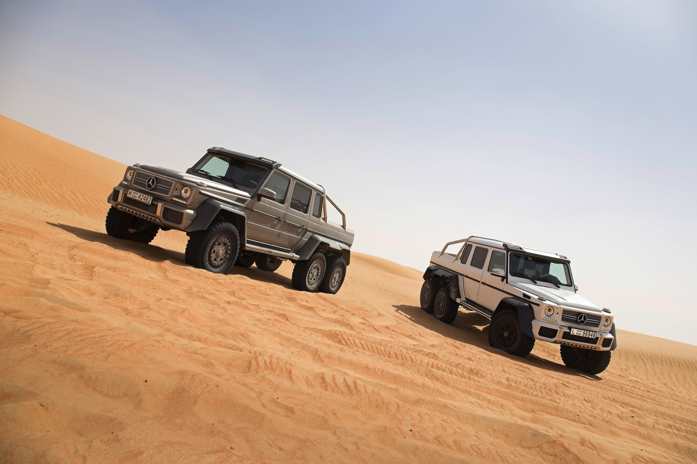Price of Mercedes G-Wagon 6X6