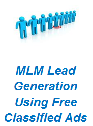 MLM Lead Generation Using Free Classified Ads