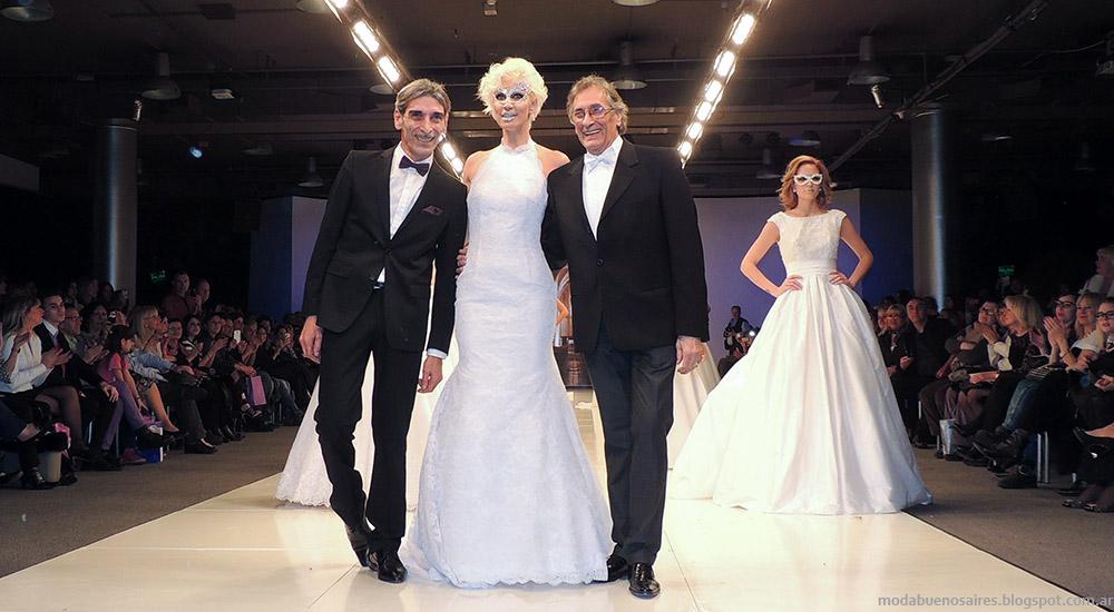 Vestidos de novia 2015. Moda Argenina Fashion Week Iara 2015. BAAM N°41.