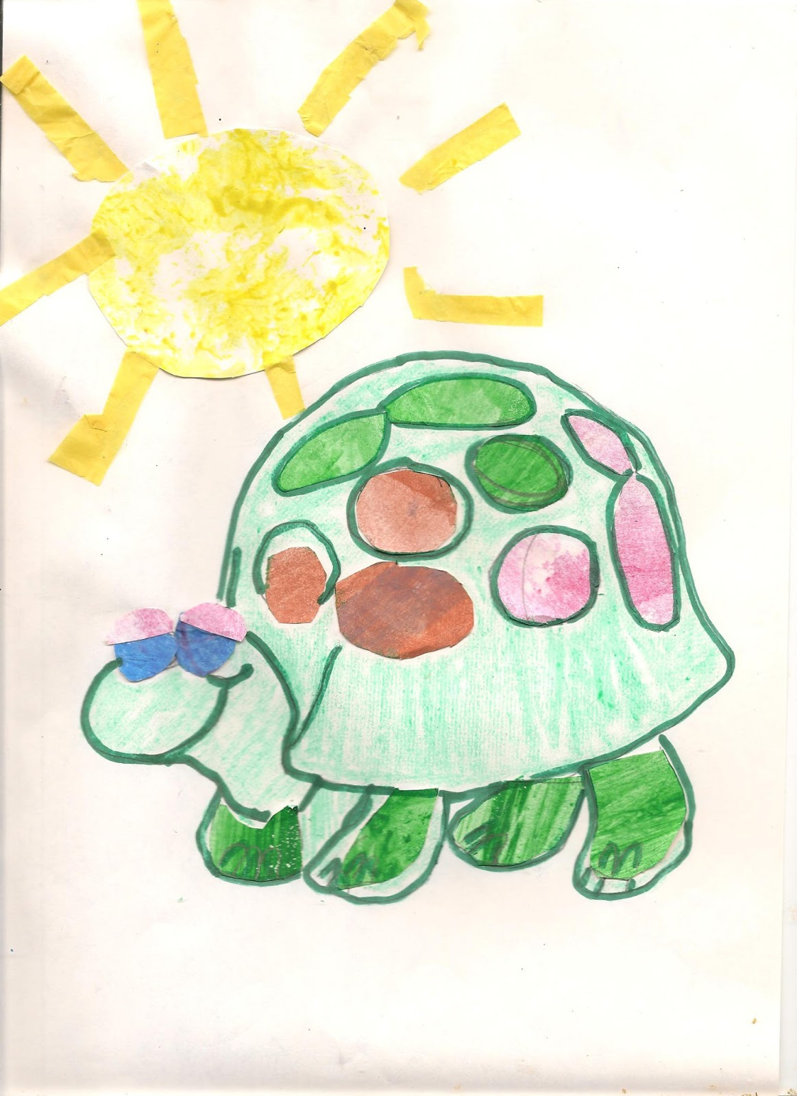 how to paint like eric carle homeschool art project collage kids