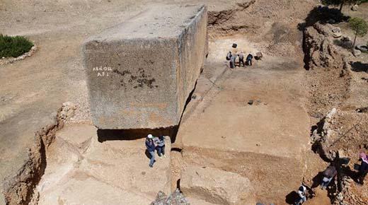 Descubierto un nuevo monolito en Baalbek, el más grande del mundo