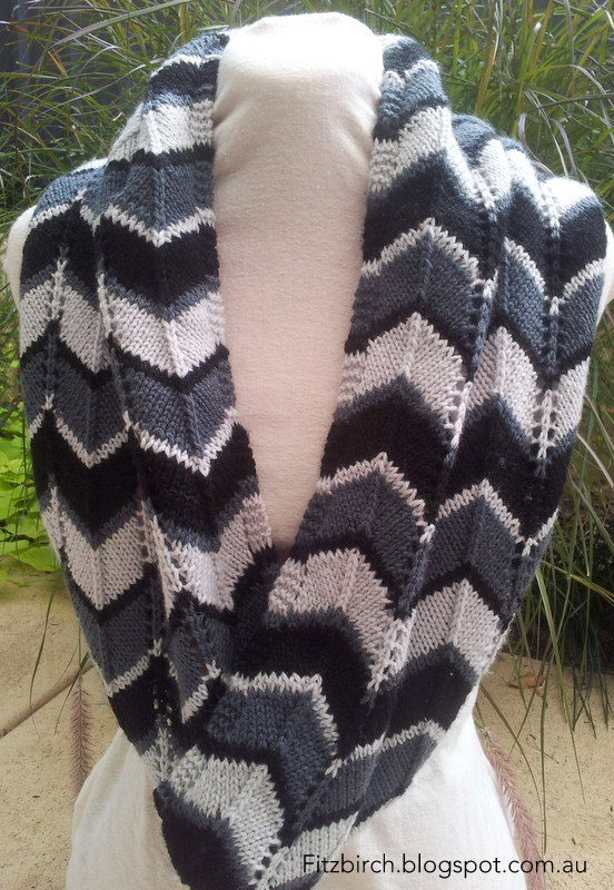 Chevron Lace Shawl Crochet Pattern : FitzBirch Crafts: Free Knitting Patterns
