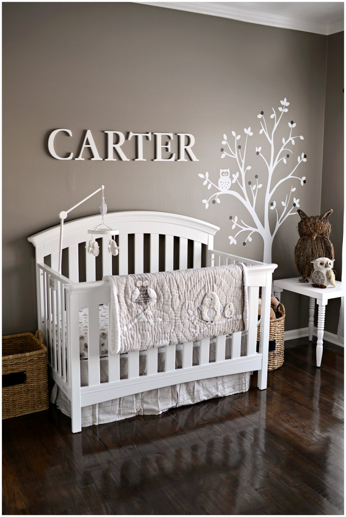I heart pears neutral nurseries Calming colors for baby nursery