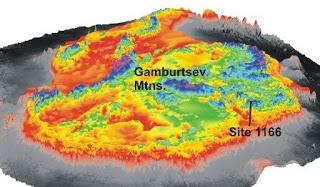 Misteri Pegunungan Hantu di Antartika?