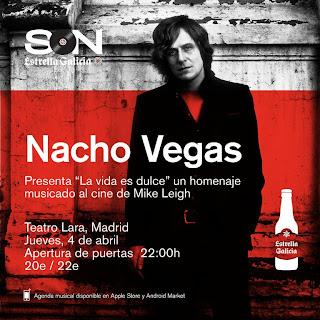 """Nacho Vegas presenta """"La vida es dulce"""": un homenaje musicado al cine de Mike Leigh"""