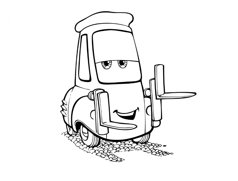 Disney Cars Coloring Pages Learn To Coloring