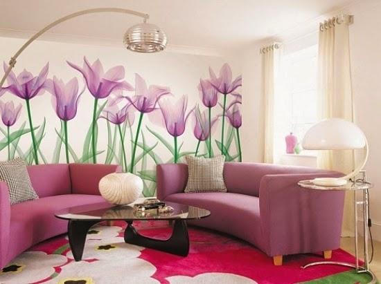 Conseils d co et relooking 13 id es cr atives pour le salon d coration mura - Decoration mur interieur salon ...