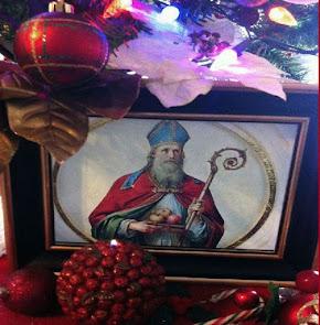 San Nicolás ruega por nosotros para que persevermos firmes en Cristo hasta el final.