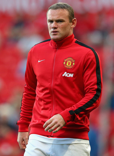 Wayne Rooney Manchester United Striker 20132014