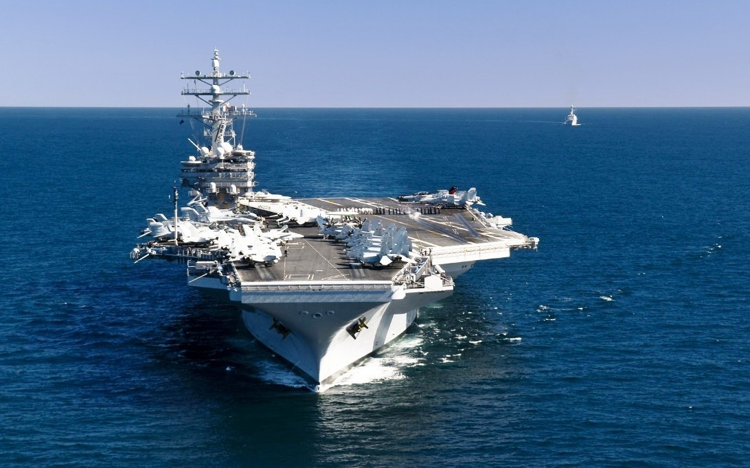 USS Ronald Reagan (CVN-76) Supercarrier Wallpaper 1