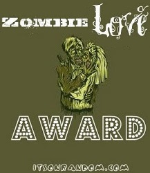 ZOMBIE LOVE AWARD