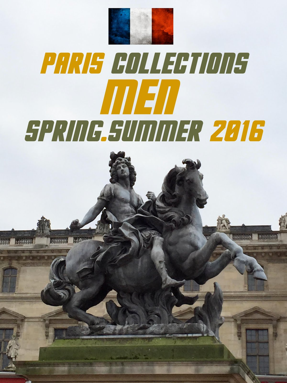 PARIS MEN COLLECTIONS SS16