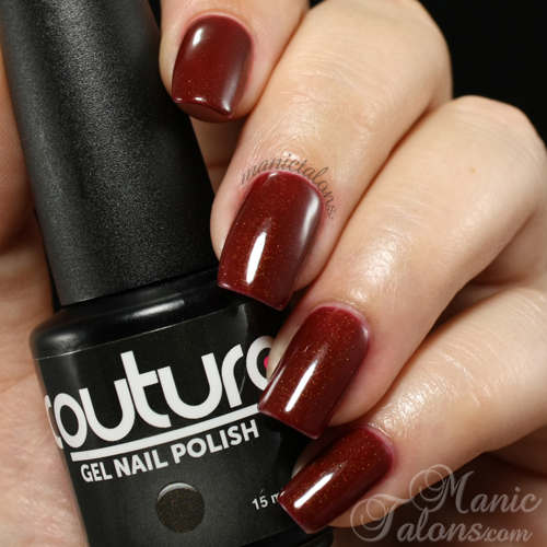 Couture Gel Polish Moody Model Swatch