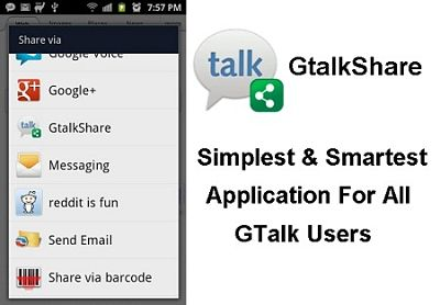 How to share photos & data on GTalk for Android via GtalkShare?