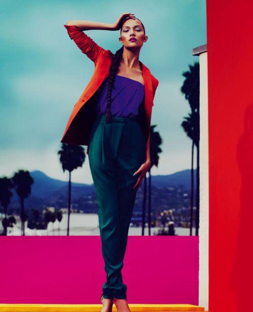 fashion studio magazine hot trend colour blocking. Black Bedroom Furniture Sets. Home Design Ideas