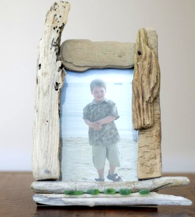 simple driftwood diy mirrors frames