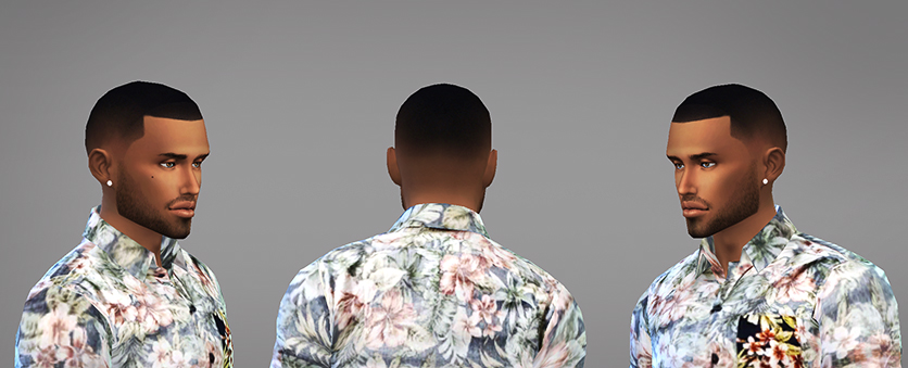 My Sims 4 Blog Infisim Fade Hair For Males