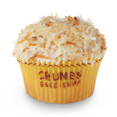 toasted coconut cupcake