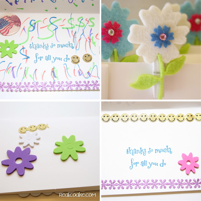 Letters for the military an idea for earning the spring green Daisy Petal from realcoake.com