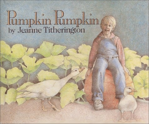 http://www.amazon.com/Pumpkin-Jeanne-Titherington/dp/0688099300/ref=sr_1_1?ie=UTF8&qid=1447780049&sr=8-1&keywords=pumpkin+pumpkin