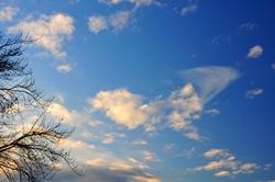 Endlich wieder blauer Himmel...
