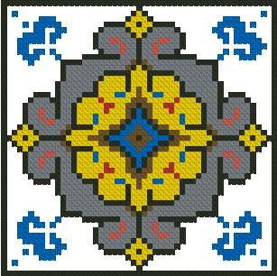 Татарский орнамент для вышивки 78