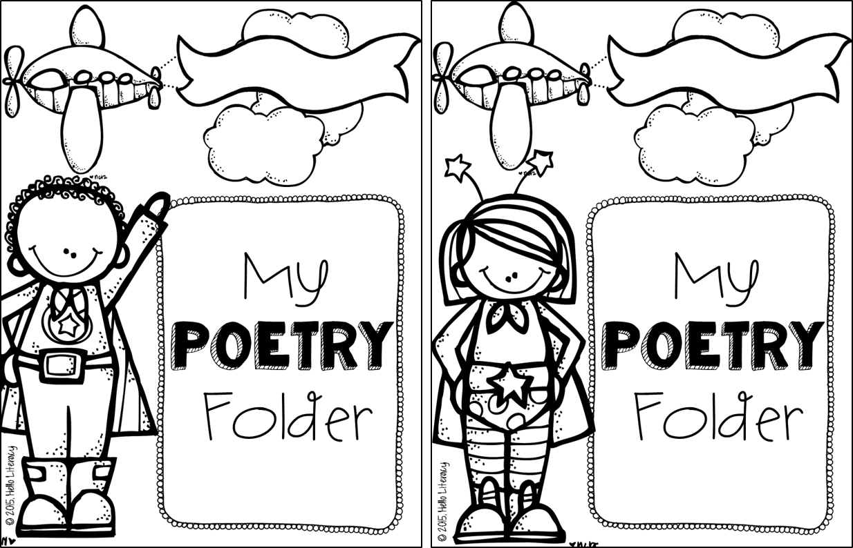 Poetry Book Cover For Kids : Hello literacy