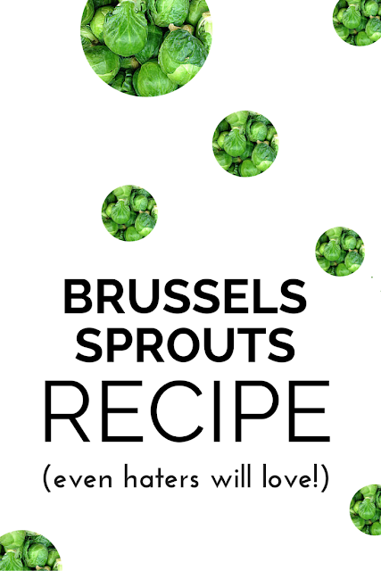 Learn why brussels sprouts can do so much bodily magic and try this fantastic & easy recipe tonight that everyone (even veggie haters) will love!