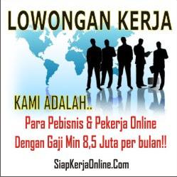 Kerja Online Luar Negeri Gaji  8,5 Juta/bulan